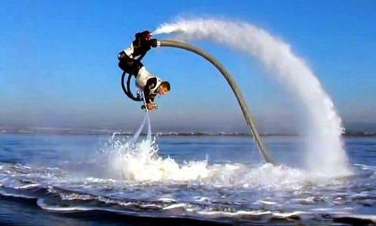 Flyboarding In Sacramento, California