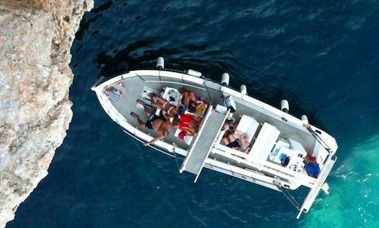 Boat Excursions In Polignano A Mare, Italy