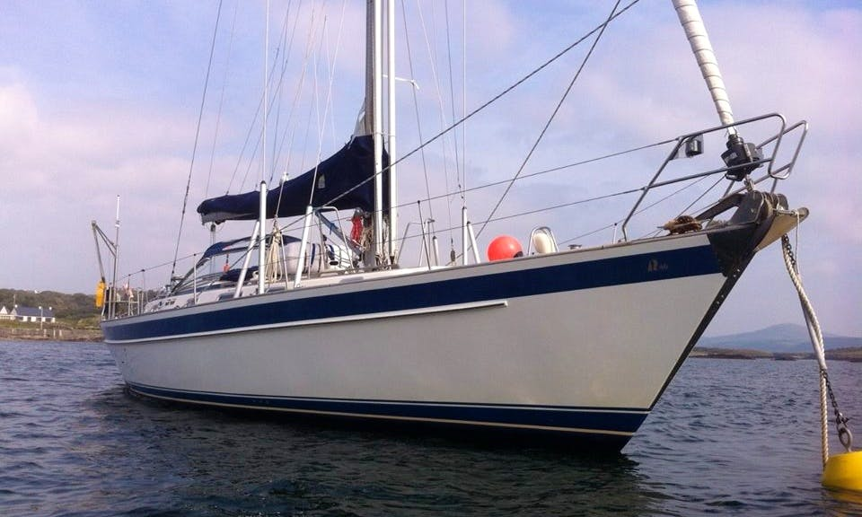 "Sailing Charter On 46ft ""Merlin"" Cruising Monohull In Ahakista, Ireland"