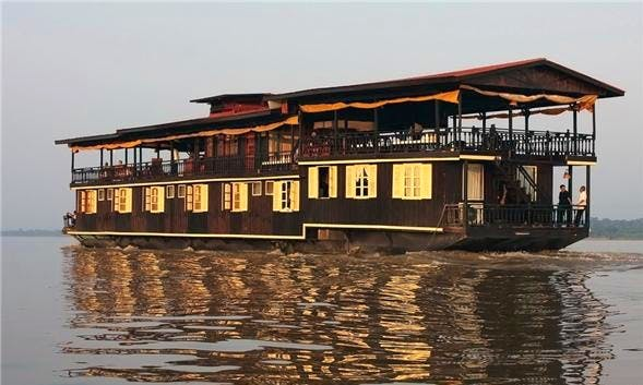Wat Phou Cruise 2D1N