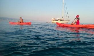Memorable Single Kayak Rental in Arenzano, Italy