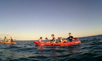 Book a Tandem Kayak in Arenzano, Italy