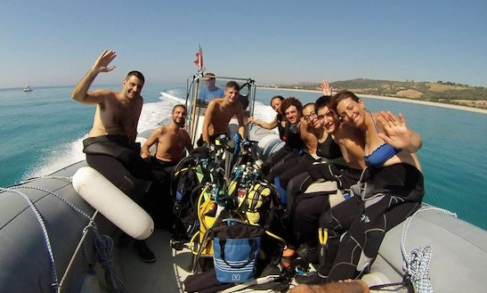 Rib Diving Trips And Courses In Marina Di Gioiosa Ionica, Italy