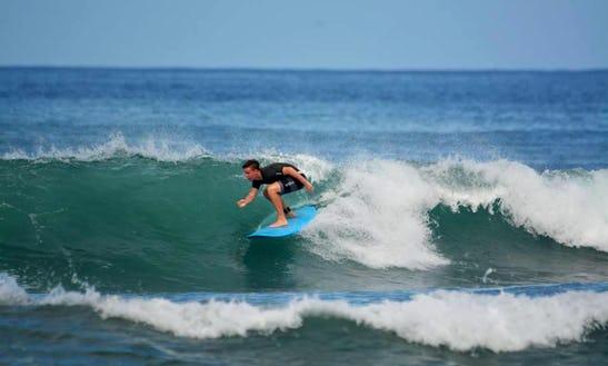 Surf Lessons In Tamarindo, Costa Rica