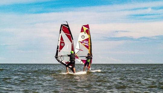 Windsurfing In Nida, Lithuania