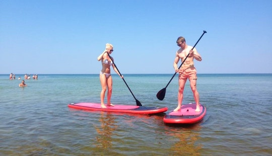 Paddleboard Rental & Lessons In Nida, Lithuania