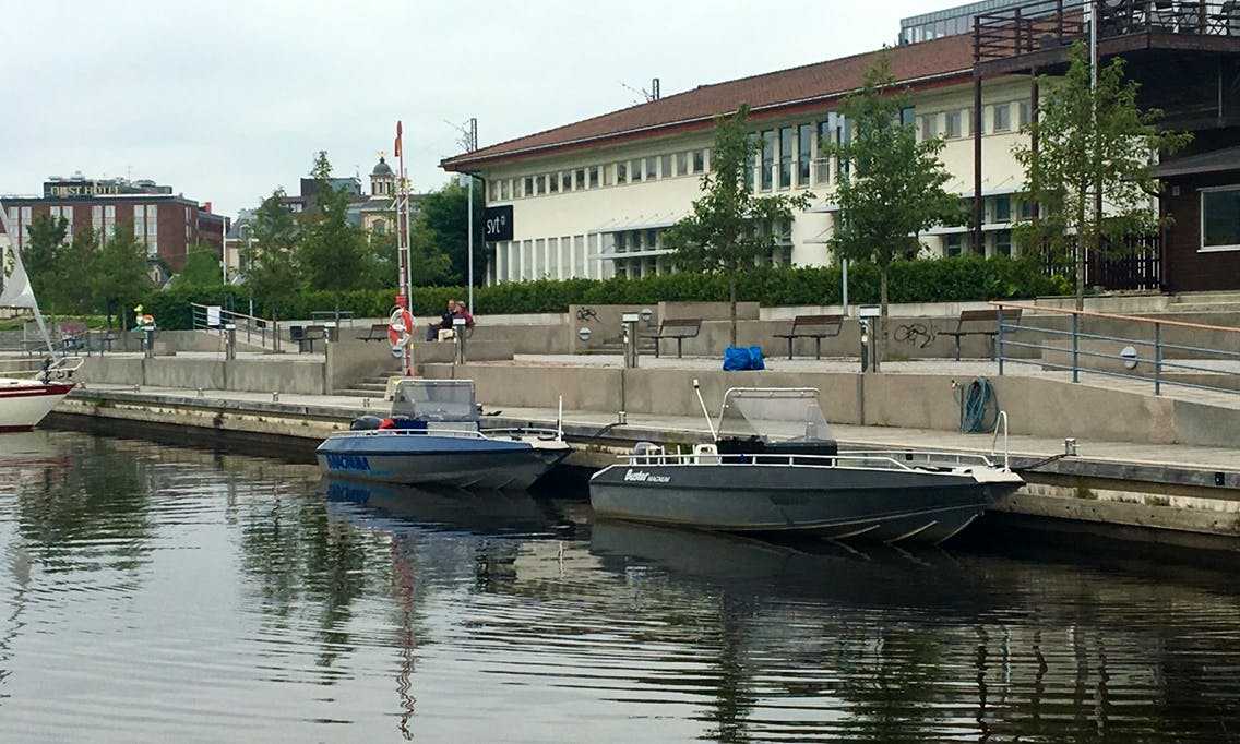 Water Taxi for rent in Sundsvall