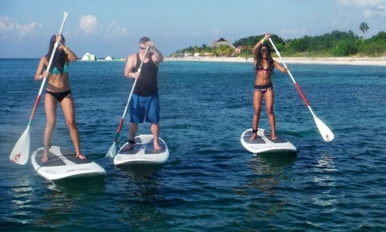 Paddleboard Rental In Cozumel, Mexico