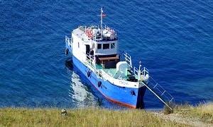 "78' ""Grom"" Trawler Charters in Lake Baikal, Russia"