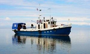 "79' ""Mirazh"" Trawler Charters in Lake Baikal, Russia"
