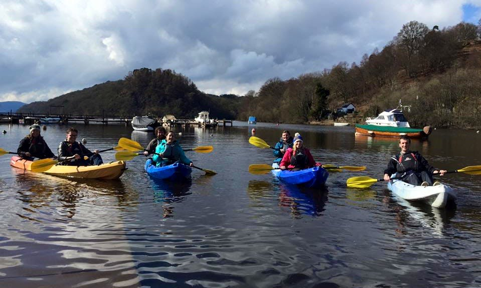 Double Kayak Hire to Explore Loch Lomond and Its Islands