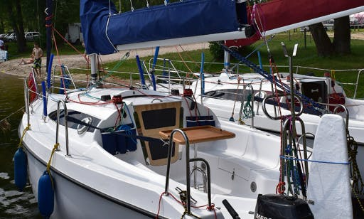 Sasanka 660 Olus Cruising Monohull Charter in Gizycko
