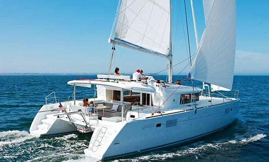 Lagoon 450 Cruising Catamaran Rental In Split