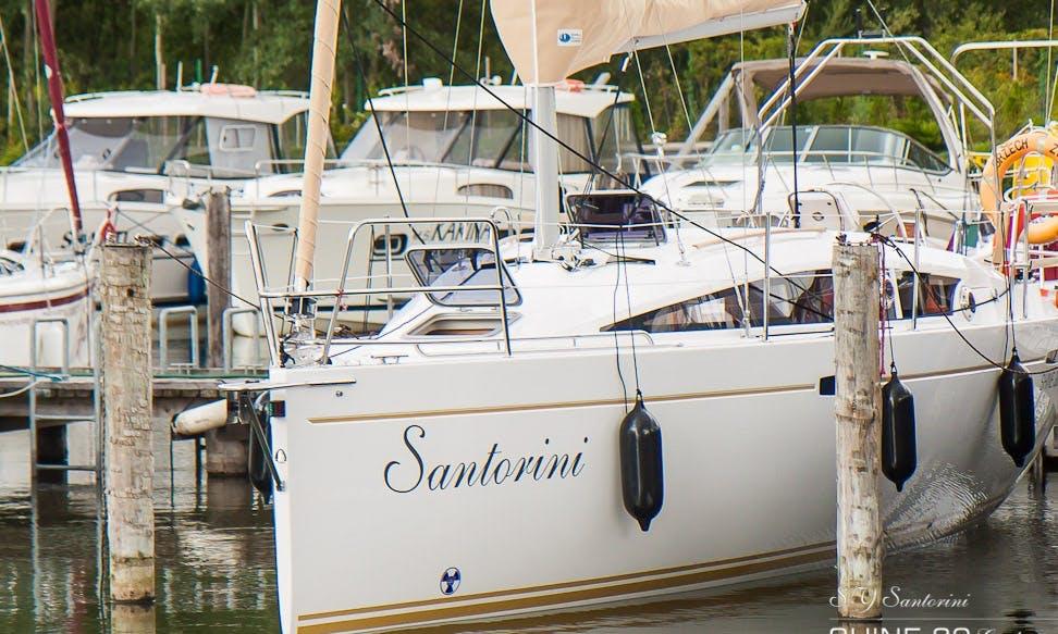 Shine 30 Santorini Cruising Monohull Charter in Gizycko