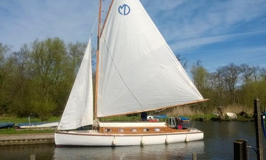 Hire This 24' Leander Yacht In Martham