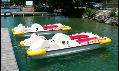 Découvrir le Lac d'Annecy en pédalant
