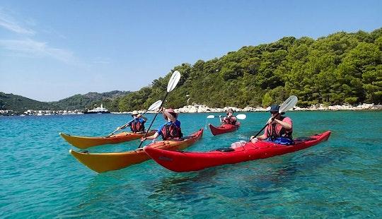 Kayak Tours On Elaphite Islands In Dubrovnik