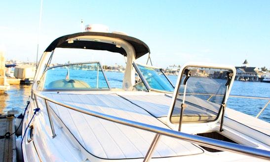 Beautiful Searay Sundancer Rental In Newport Beach