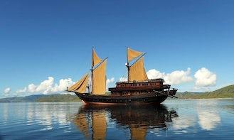 Sailing Mega Yacht Charters in Komodo