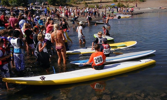 Come Learn How To Sup (stand Up Paddle) In Hood River, Oregon