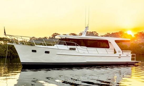 Classic Gentelmand Cruiser. Sydney's Newest Charter Vessel