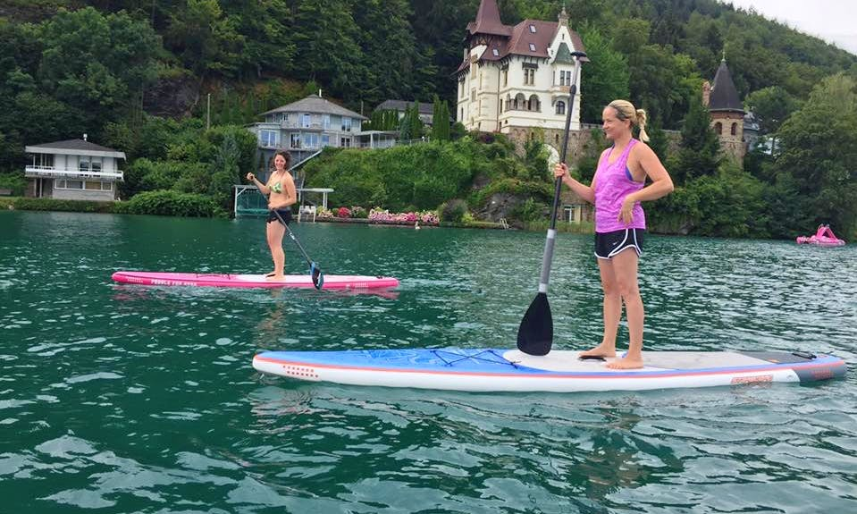Paddleboard Courses and Rental in Klagenfurt am Wörthersee