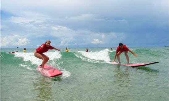 Surf Lessons In Bryon Bay Austrailia