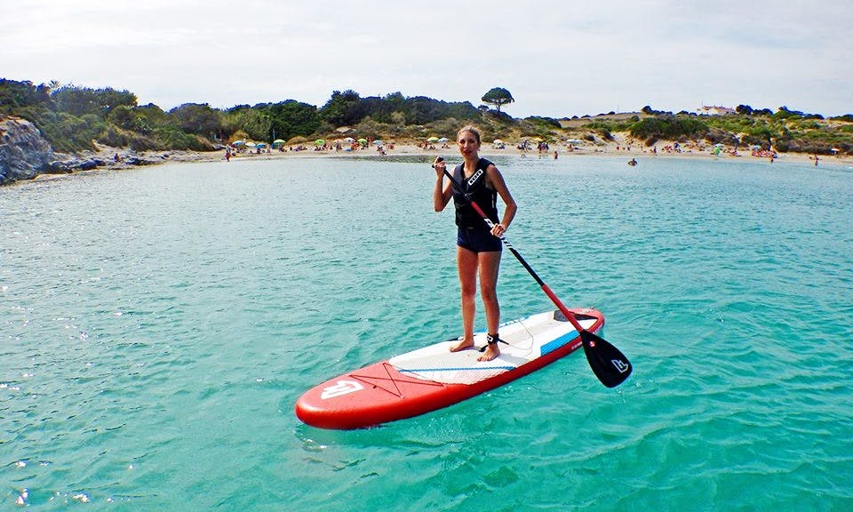 Stand Up Paddleboarding in Carloforte