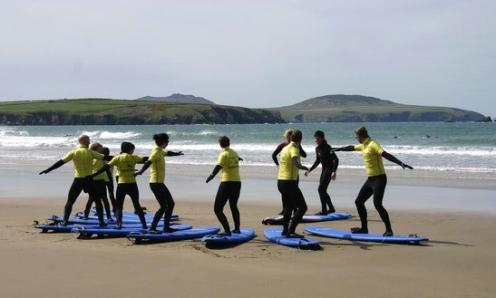 Surf Lessons In Saint Davids