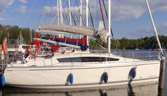 Delphia 33mc For 10 Person Available For Charter In Giżycko, Poland