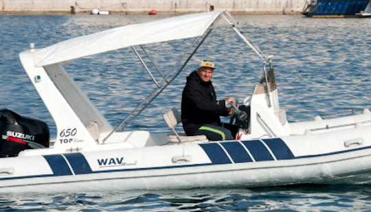 Rib For Charter With Captain In Split