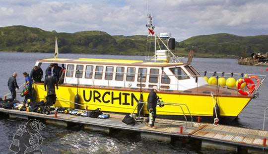Diving Boat Trip & Courses In Scotland