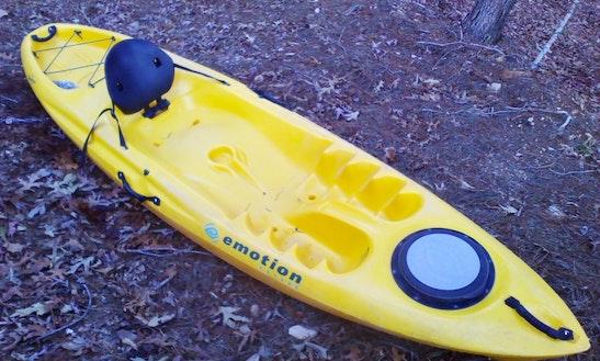 Kayak Lessons On Lake Arrowhead, Ga