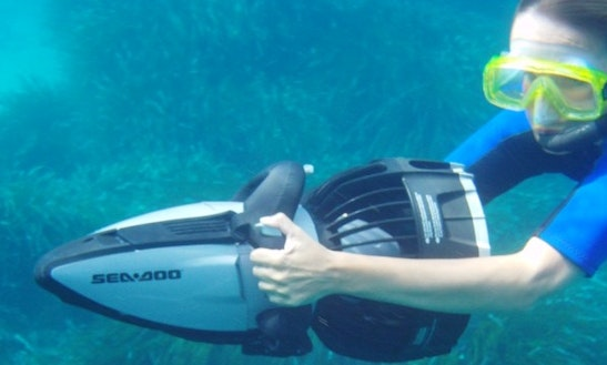 Snorkeling In Ciutadella De Menorca Illes Balears, Spain