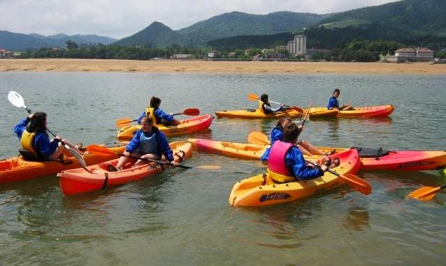 Single Kayak Rental and Courses in Ibarrangelu