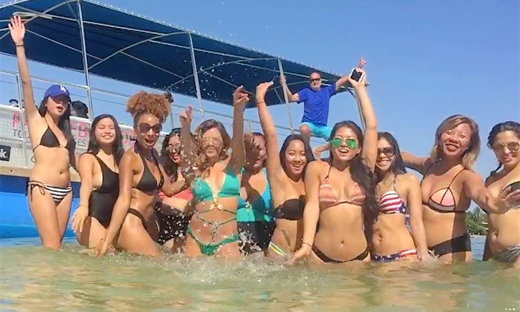 16 Guests Party Pontoon in Miami