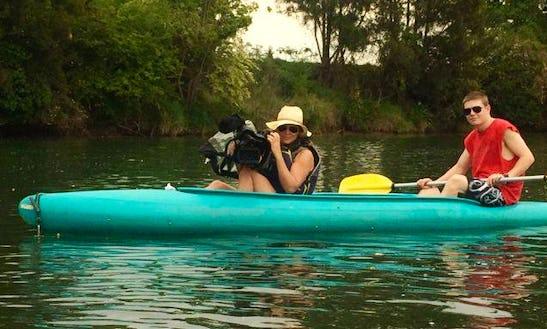 Double Kayak Rental In Fernmount