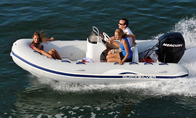 Ocean Runner RIB Rental in Almunecar