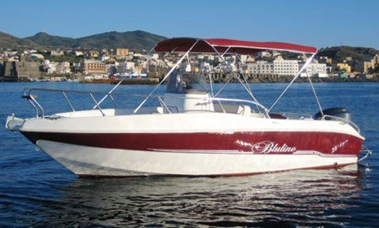 Rent Blueline 21 Motorboat In Pantelleria