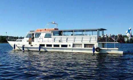 """MV Princess Anne"" Cruising Yacht Charter in Finland"