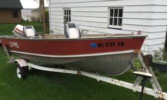 Rent 16' Lund Dinghy In Fulton, Wisconsin