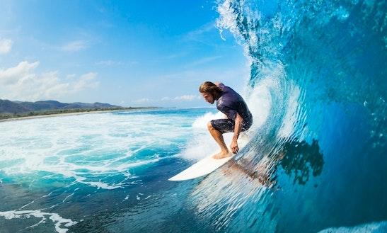 Day Surf Tour In Lembongan Island