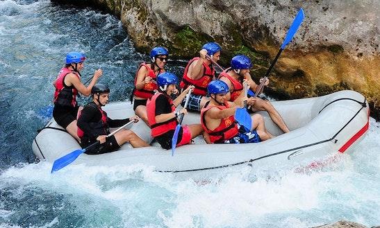 Rafting Trips In Slime