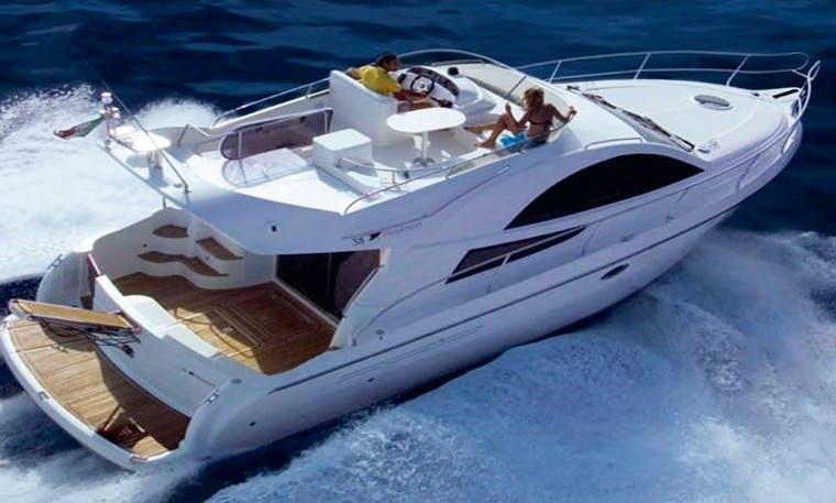 Impressive Rodman 38 Motor Yacht Charter in Almuñécar, Andalucía