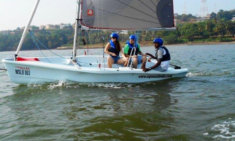 Learn to Sail Basic course - Laser Bahia, Grand Hyatt Goa, Bambolim