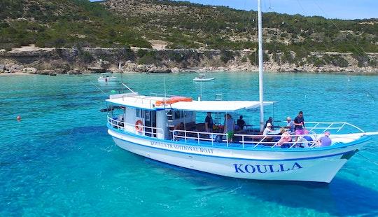 Traditional Boat Cruising In Poli Crysochous