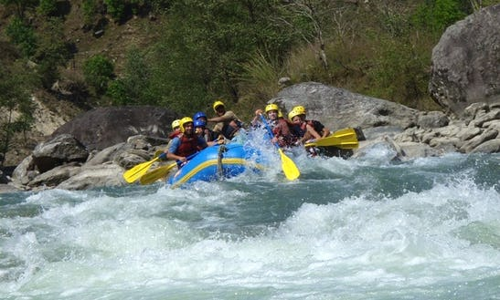 Experience The Rafting Adventure Of Your Dreams Along With 8 People In Kathmandu, Nepal