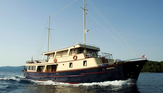 A Voyage Of Splendor Aboard 7 Person Sailing Gulet In Split, Croatia