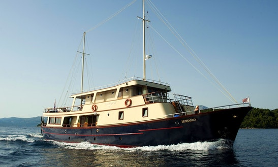 A Voyage Of Splendor Aboard 7 Person Sailing Gulet In Split, Croatia