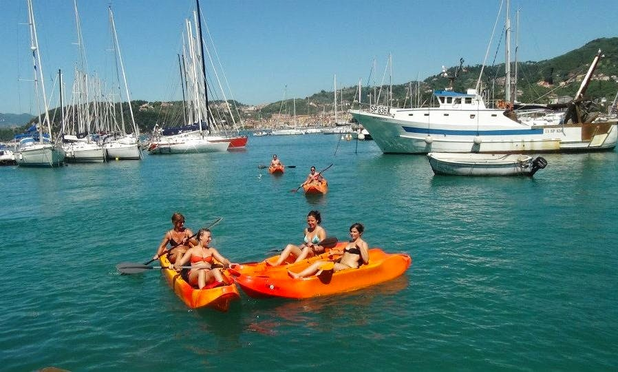 Double Kayak Rental,Courses and Trips in Lerricci